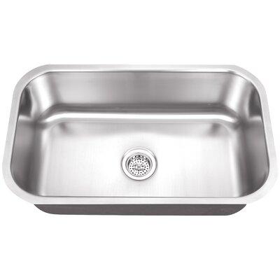 16 Gauge Stainless Steel 32 x 18 Undermount Kitchen Sink