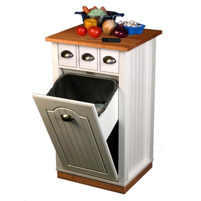 Venture Horizon Kitchen Island with Butcher Block Top at Sears.com