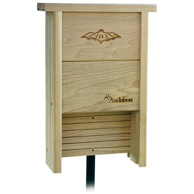 Audubon Cedar 15.5 in x 14.5 in x 3.5 in Bat House