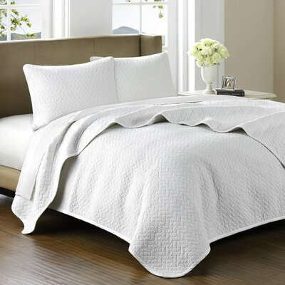 Bellville 3 Piece Coverlet Set Size: King