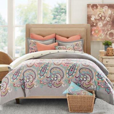 Persian Paisley Comforter Set Size: Queen