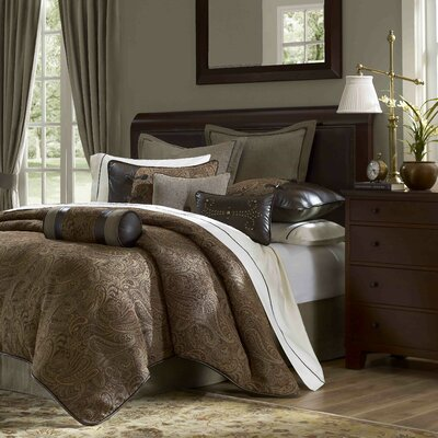 Drummond 10 Piece Comforter Set Size: Queen