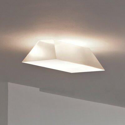 Beetle 2-Light Pyramid Ceiling Light