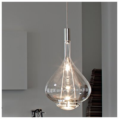 Sky-Fall 2-Light Schoolhouse Pendant Shade Color: Transparent