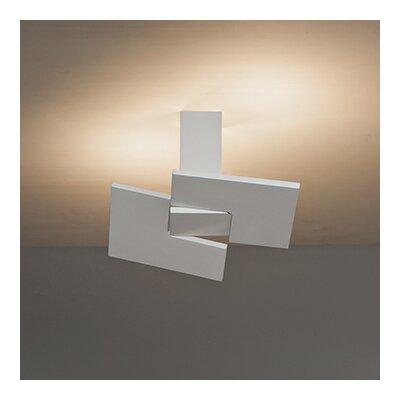 Puzzle Twist 2-Light Semi Flush Mount