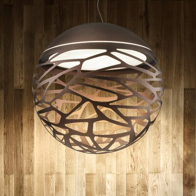 Kelly 3-Light Globe Pendant Finish: Bronze