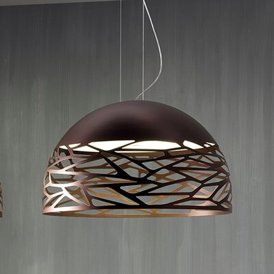Kelly 3-Light Bowl Pendant Finish: Bronze