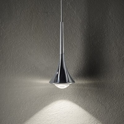 Rain 5-Light LED Cluster Pendant Finish: Brushed Chrome