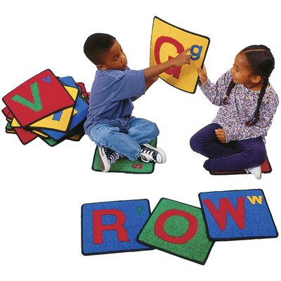 Carpet Kits Alphabet Block Area Rug Rug Size: 1 x 1