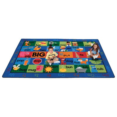 Emerado Rhyme Time Area Rug Rug Size: 76 x 12