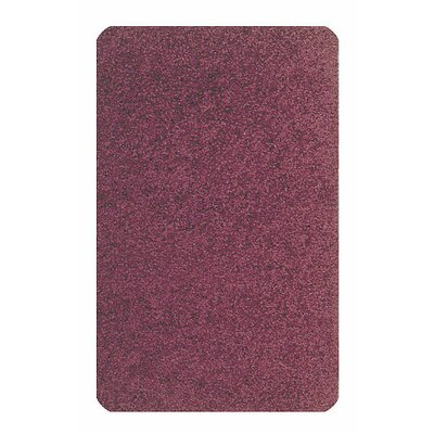 Solid Mt. St. Helens Cranberry Area Rug Rug Size: Rectangle 6 x 9