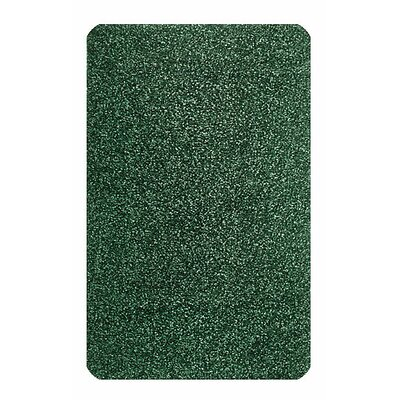 Solid Mt. St. Helens Emerald Green Area Rug Rug Size: Oval 6' x 9'