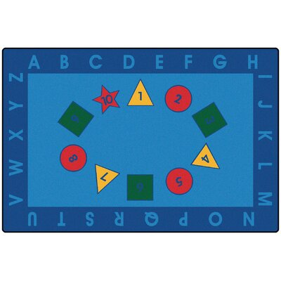 Value Plus Early Learning Area Rug Rug Size: 8 x 12