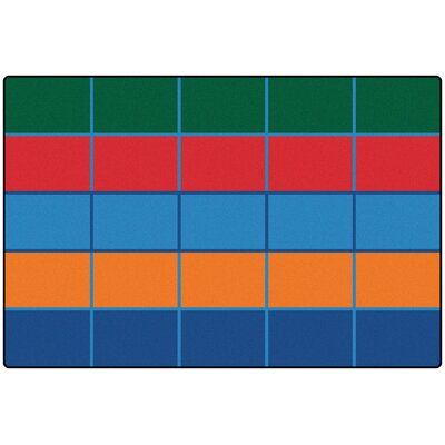 Value Plus Color Blocks Area Rug