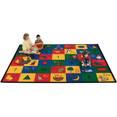 Carpet Kits Shape / Number Block Carpet Squares Rug Size: 1 x 1