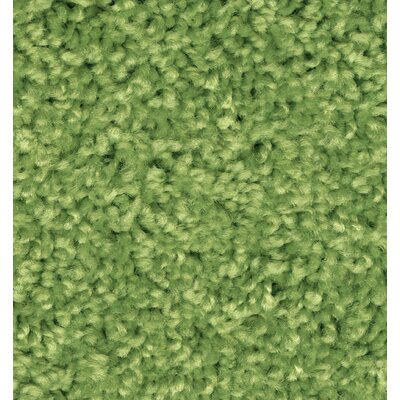 Kid Plush Solids Limeaid Area Rug Rug Size: 84 x 12