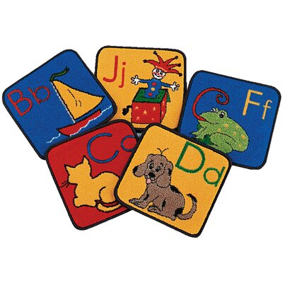Carpet Kits ABC Phonic Block Area Rug Rug Size: 1 x 1