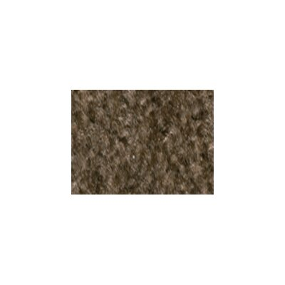 Solid Mt. St. Helens Mocha Area Rug Rug Size: Rectangle 84 x 12