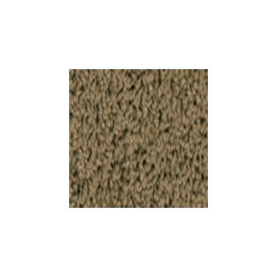 Soft Solids Brown Sugar Area Rug Rug Size: 84 x 12