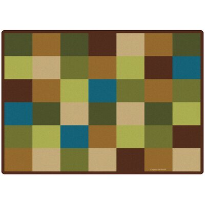Blocks Seating Kids Rug Rug Size: 84 x 118