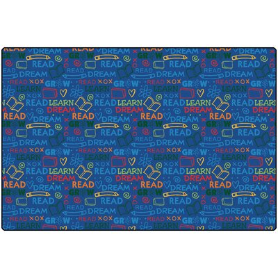 Read To Dream Kids Area Rug Rug Size: 4