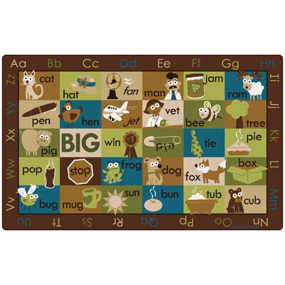 Rhyme Time Kids Rug Rug Size: 7