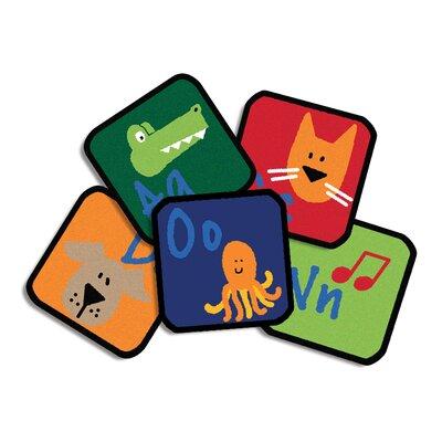 Learning Blocks Kids Rug Rug Size: Square 1