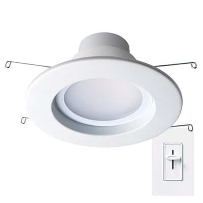 Dimmable 4 LED Recessed Retrofit Downlight Size: 6