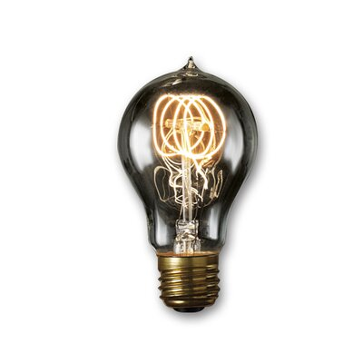 Smoke Incandescent Light Bulb (Set of 4) Wattage: 60