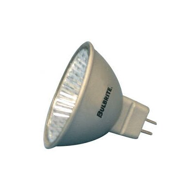 Bi-Pin 50W Silver 12-Volt Halogen Light Bulb (Set of 6)