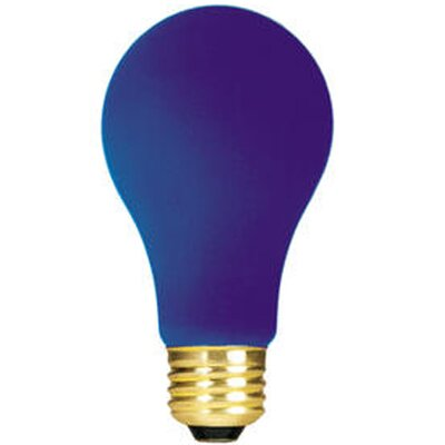 60W Blue 120-Volt (2700K) Incandescent Light Bulb (Set of 19)