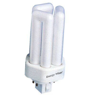 Dimmable 120-Volt (4100K) Fluorescent Light Bulb (Set of 12) Wattage: 26W