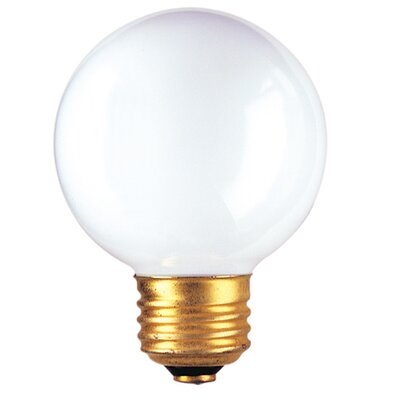 25W Frosted 120-Volt (2540K) Incandescent Light Bulb (Set of 20)