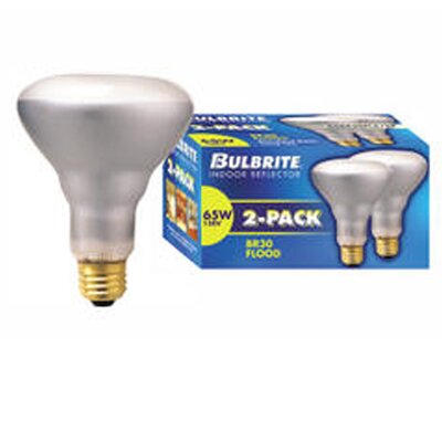 65W 120-Volt (2700K) Incandescent Light Bulb (Pack of 2) (Set of 8)