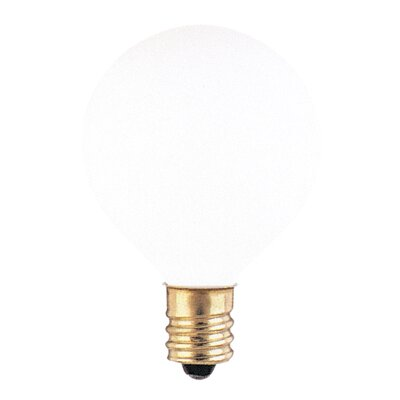 120-Volt (2700K) Incandescent Light Bulb (Set of 43) Color: White, Wattage: 10W