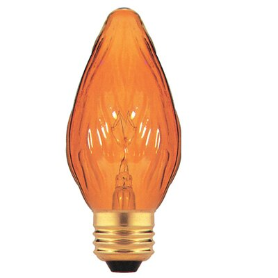 Amber 130 - Volt (2700K) Incandescent Light Bulb (Pack of 8) (Set of 2)