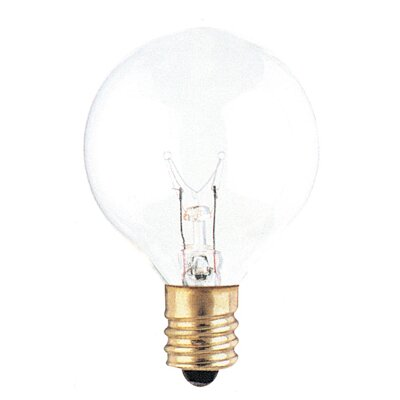 120-Volt (2700K) Incandescent Light Bulb (Set of 43) Color: Clear, Wattage: 15W