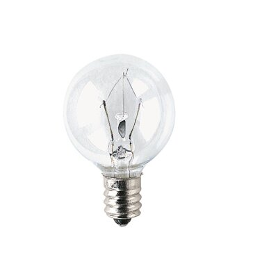Candelabra Light Bulb (Pack of 10) (Set of 2) Bulb Type: 40W  G11 Candelabra Base