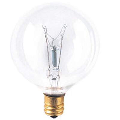 Candelabra 130-Volt Incandescent Light Bulb (Set of 43) Wattage: 60W