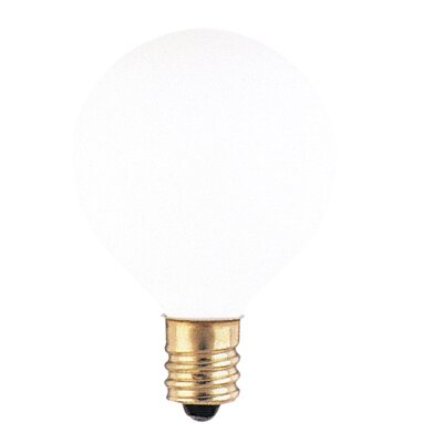 120-Volt (2700K) Incandescent Light Bulb (Set of 43) Color: White, Wattage: 25W