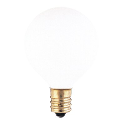 120-Volt (2700K) Incandescent Light Bulb (Set of 43) Color: White, Wattage: 15W