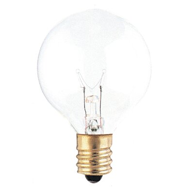 120-Volt (2700K) Incandescent Light Bulb (Set of 43) Color: Clear, Wattage: 40W