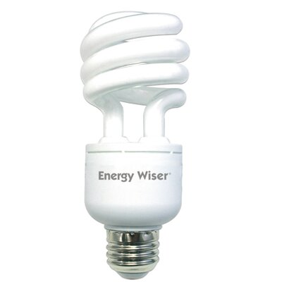 Dimmable 120-Volt (2700K) Compact Fluorescent Light Bulb (Set of 3) Wattage: 18W