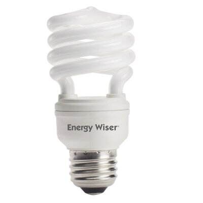 Super Mini Fluorescent Light Bulb Color: Soft Daylight, Wattage: 18W