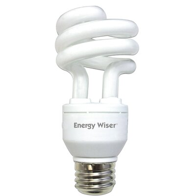 Dimmable 120-Volt (2700K) Compact Fluorescent Light Bulb (Set of 3) Wattage: 15W