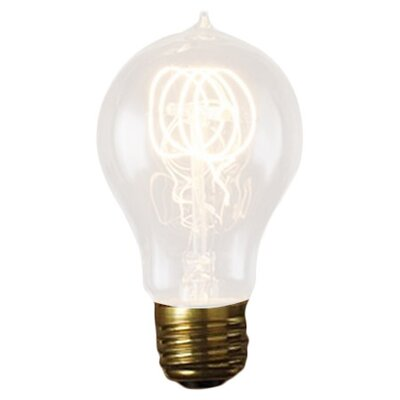 Nostalgic Edison 25W 120-Volt Incandescent Light Bulb (Set of 3) Bulb Type: 25W A23  Nostalgic Edison