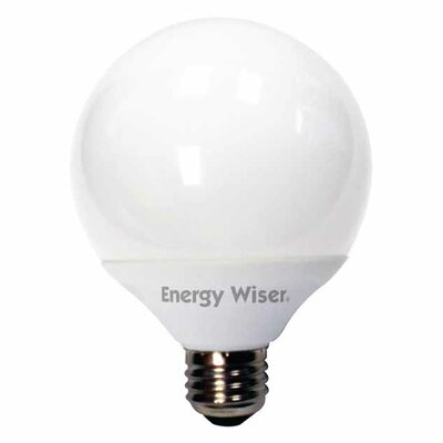 14W (4100K) Compact Fluorescent Light Bulb (Set of 4)