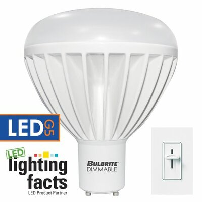 Frosted GU24 LED Light Bulb (Set of 2) Bulb Temperature: 3000K