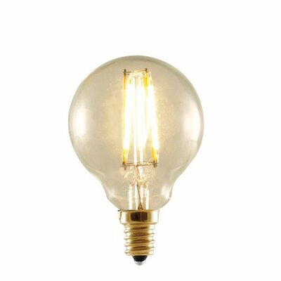 2W 120-Volt (2200K) G16 Globe Light Bulb (Set of 3)