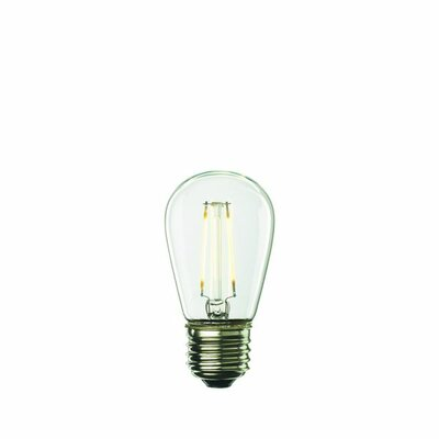 2W E26/Medium (Standard) S14 LED Light Bulb (Set of 5)
